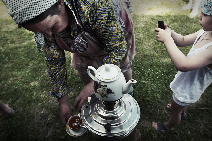 Samovar / tea ceremony.  2011